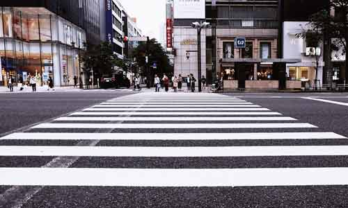 auto pedestrians acident