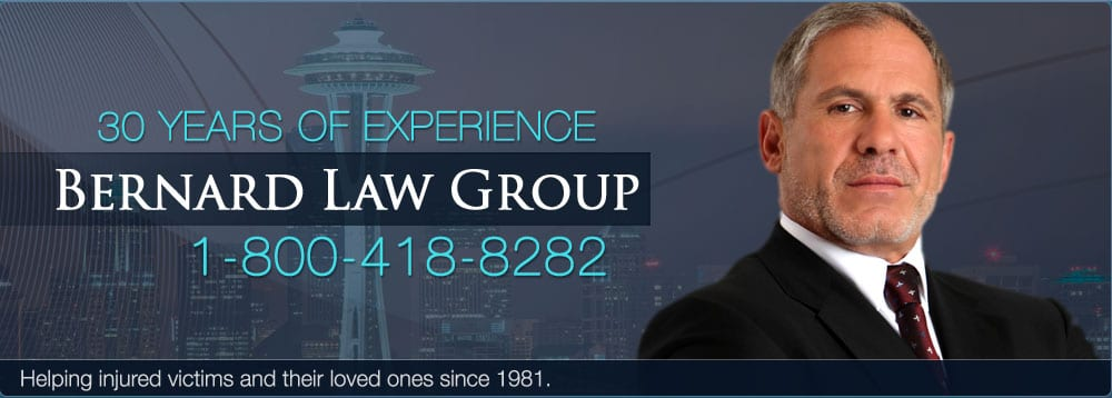 Bernard Law Group Personal Injury Claims Types